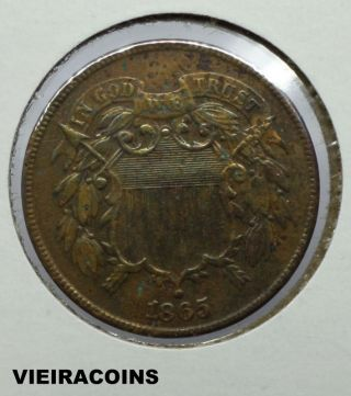 1865 Two Cent - - - 3501 photo
