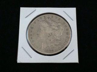 1882 P Morgan 90% Silver Dollar.  900 Fine Silver & Usa photo