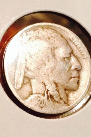 1920 Partial Date Indian Head/ Buffalo Nickel photo