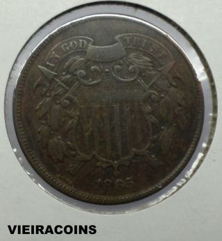 1865 Two Cent - - - 3505 photo