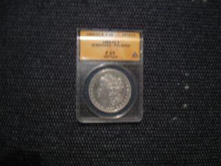 1889 - Cc Morgan Silver Dollar F 15 photo
