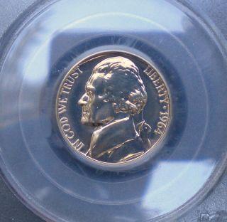 1964 Jefferson Nickel Proof Graded Pr67 By Pcgs photo