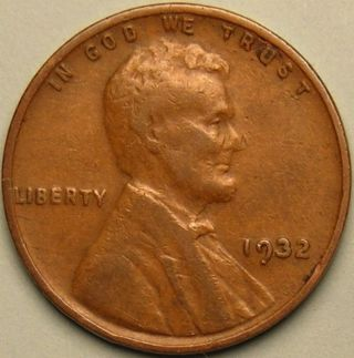 1932 P Lincoln Wheat Penny,  Less Than 10 Million Made,  Ac 725 photo