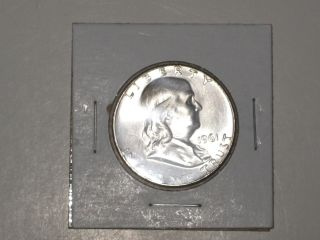 1961 Franklin Silver Half - Dollar - photo