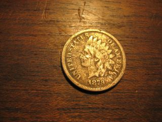 1879 Error Coin Indian Head Penny 1 One Cent Better Coin Liberty photo