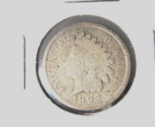 Almost Good In Grade 1893p Indian Head Penny photo