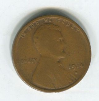 1914 - D 1c Wheat Cent Ag,  Choice For The Grade photo