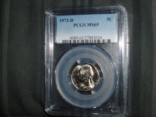 1972 - D Pcgs Ms - 65 Jefferson Nickel photo