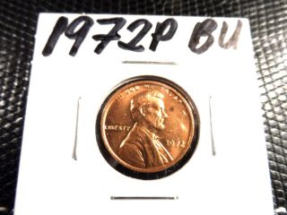 Bu 1972p Lincoln Penny photo