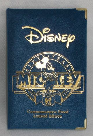 Mickey ' S Sixty Year Master Commerative Proof photo