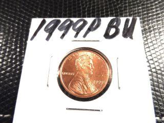 Bu 1999p Lincoln Penny photo