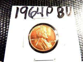Bu 1964p Lincoln Penny photo