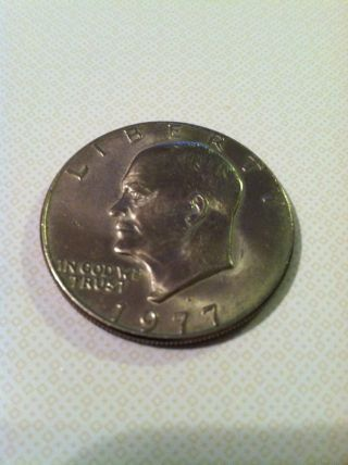 1977 One Dollar Coin photo