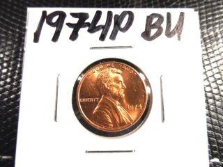 Bu 1974p Lincoln Penny photo
