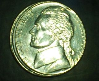 1999 D Jefferson Nickel Error photo