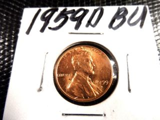 Bu 1959d Lincoln Penny photo