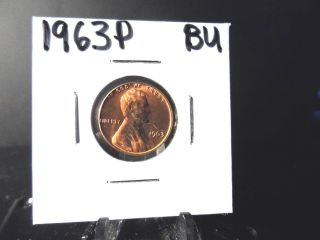 Bu 1963p Lincoln Memorial Penny photo