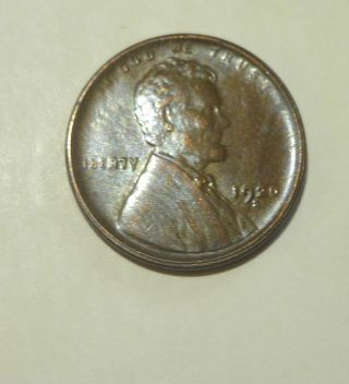 1920 S Lincoln Cent Au/unc photo
