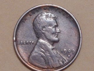 1909 S Vdb Lincoln Cent.  An Outstanding Piece Take A Look photo