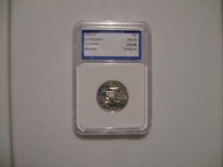 2002 - S Twenty - Five Cents Louisiana Silver Deep Cameo Proof Quarter photo
