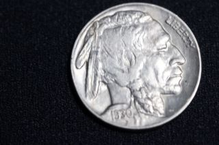 1930 Buffalo Nickel Au+/bu photo