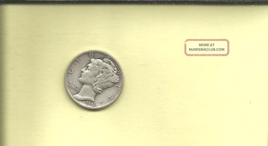 1942 Mercury Dime Dimes photo