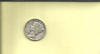 1942 Mercury Dime photo