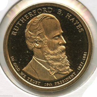 Rutherford B Hayes 2011 - S Presidential Dollar Proof Coin - San Francisco - Kp601 photo