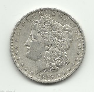 1879 - O Morgan 90% Silver Dollar Vintage Ag Coin 0.  7734 Asw Get 2% Ebay Cash Back photo