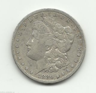1880 - S Morgan 90% Silver Dollar Vintage Ag Coin 0.  7734 Asw Get 2% Ebay Cash Back photo