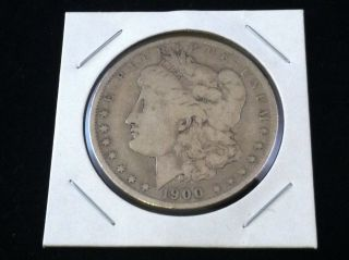 1900 O Morgan 90% Silver Dollar.  900 Fine Silver & Usa photo
