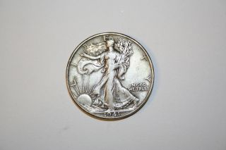 1941 D Walking Liberty Half Dollar photo