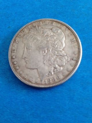1886 Morgan Silver Dollar 90% Fine Silver photo