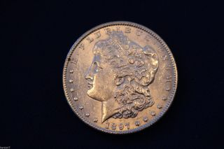 1897 Morgan Silver Dollar M1256 photo