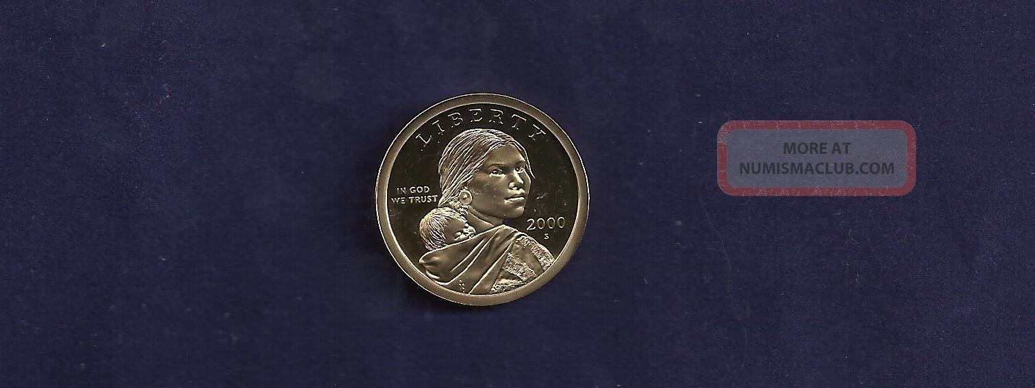 2005 S Native American Sacagawea Dollar Gem Deep Cameo Proof US Coin