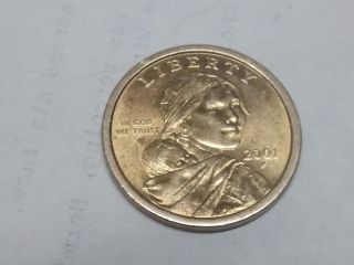Sacagawea 2001 - Rare For Me To Get - Philadelphia - =dollar Coin= - photo