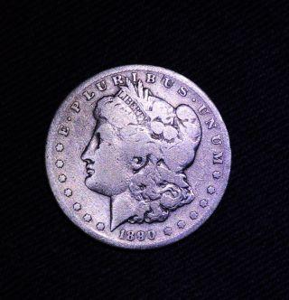 1890 - S Morgan Silver Dollar photo