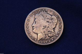 1899 - S Morgan Silver Dollar M1260 photo