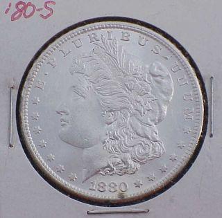 1880 - S Bu Morgan Silver Dollar photo