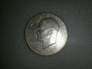1776 - 1976 Silver Dollar Coin Dwight D.  Eisenhower Bicentennial Liberty Bell photo