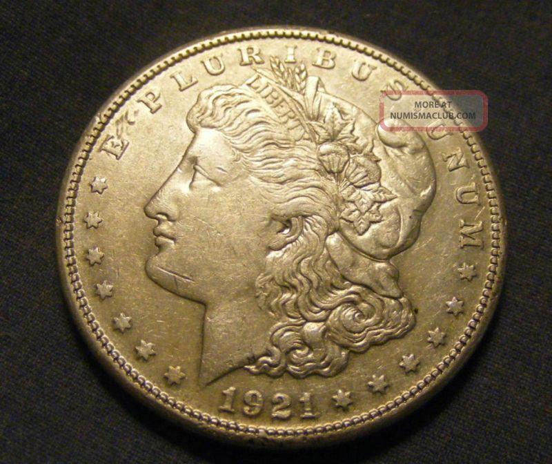 Unc 1921 S Morgan Dollar 90 Silver 147546 44