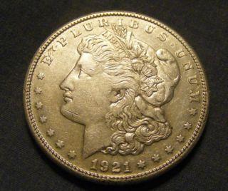 Unc 1921 S Morgan Dollar 90% Silver 147546 - 44 photo