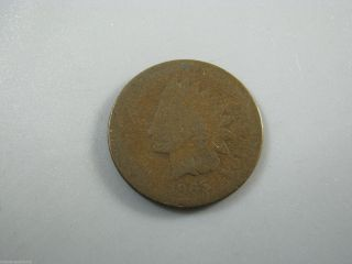 1865 Indian Head Cent United States Coin Ag Nc03 photo