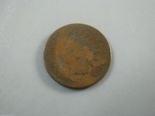1873 Indian Head Cent United States Coin Ag Nc06 photo
