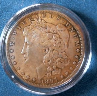 1897 Morgan Silver Dollar photo
