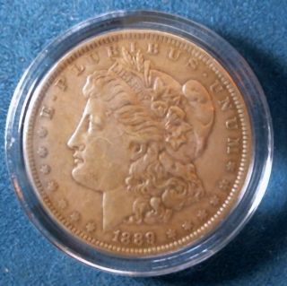 1889 Morgan Silver Dollar photo