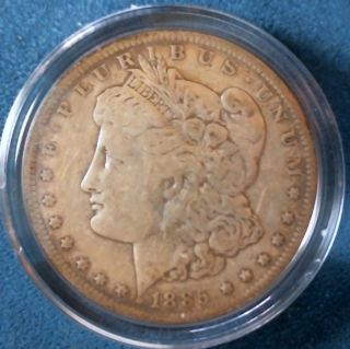 1885 Morgan Silver Dollar photo
