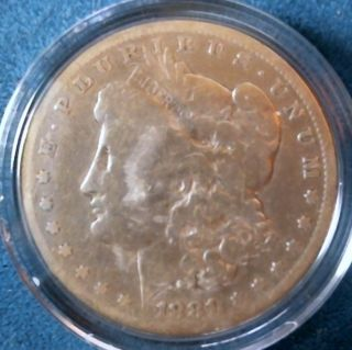 1881 Morgan Silver Dollar photo