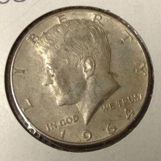 T430 : 1964 - D Silver Kennedy Half Dollar Coin :fairhouse Hq Liberty photo
