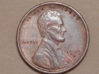 1909 S Lincoln Cent.  This Is An Outstanding Piece Look photo